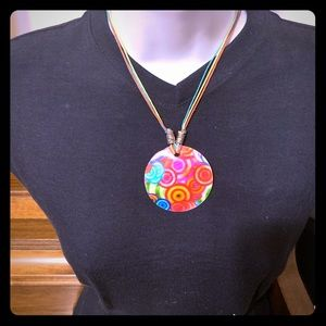 Multicolor Bright Shell Necklace